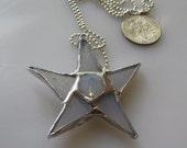 Baptism Star Necklace