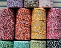 Bakers Twine 240 yards 3.00 shipping- 67 colorsCute Wrapping