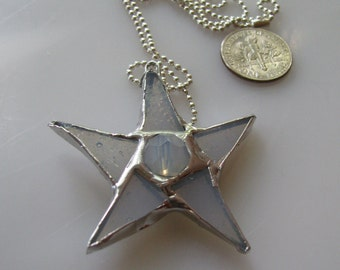 Baptism Star Necklace