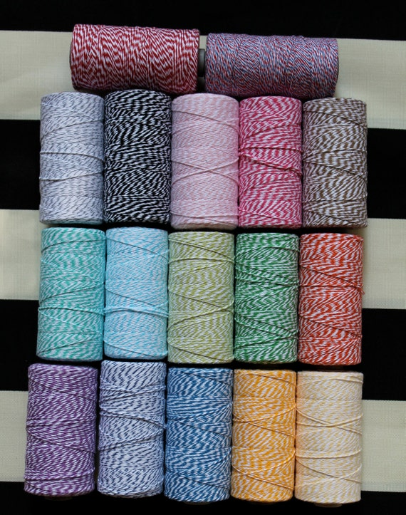 Bakers Twine- 240 yards-full spool 67 colors