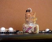 A Herbalist's Tale - Vintage-looking Romantic Vial Necklace by Dryw on Etsy