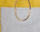 Gorgeous White Chain Link Purse