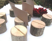 55 round place card holders- from a fallen tree