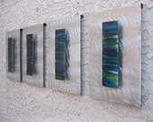 Abstract Modern Metal Wall Art Sculpture by Holly Lentz
