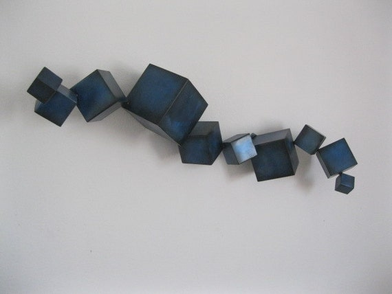 Metal art sculpture by Holly Lentz Abstract Contemporary