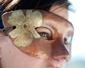 Painted  Flower Mask ***SALE***