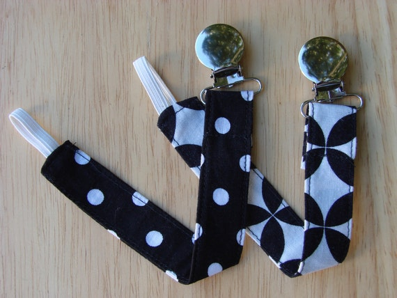 Pacifier Clip - Universal Clip for Baby Pacifier/Binky/Soothie