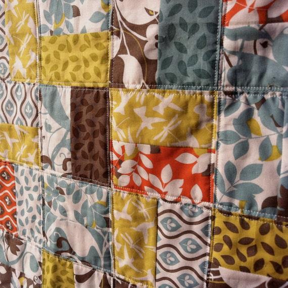 SALE, QUILT, Arcadia baby or crib quilt