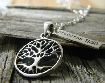 tree pendant and tag only