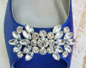 Wedding Shoes - Flats - Wedding Flats - Wedding Ballet Flats - Blue Wedding Shoes - - Sapphire Blue - Shoes - Wide Sizes -  Over 200 Colors