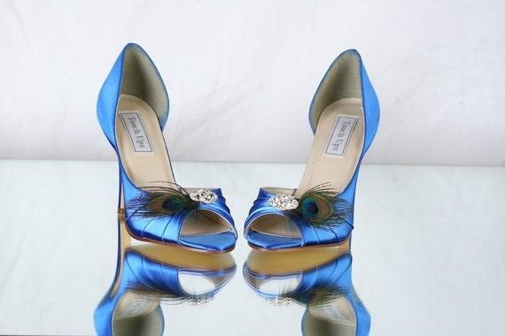 Peacock Wedding Shoes Sapphire Blue Wedding Shoes Choose
