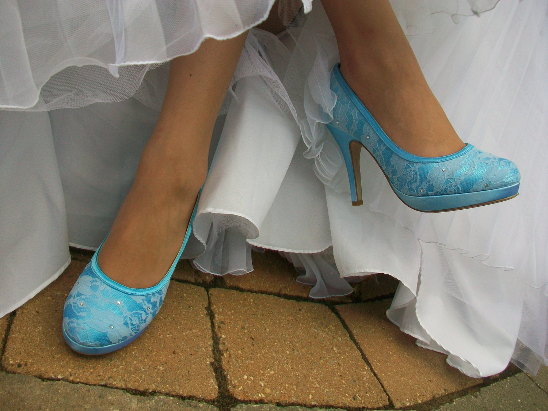 Wedding Shoes Lace Bridal Shoe