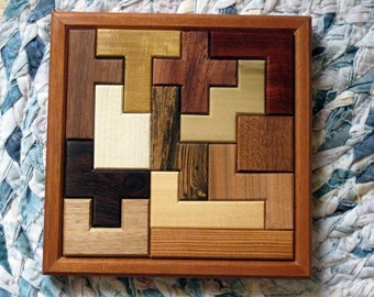 Pentominoes Wooden Puzzle