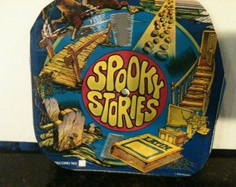 1978 Spooky Stories Paper Record