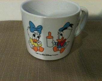 1984 Baby Disney Plastic Kids Cup