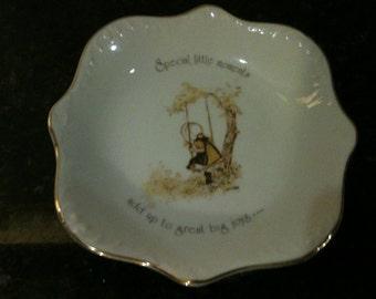 Vintage Holly Hobbie Dish/Plate