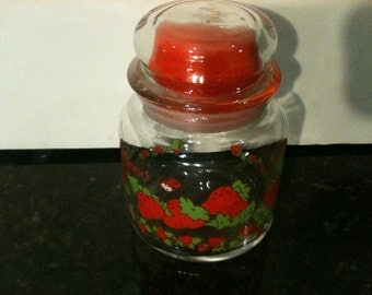Vintage Strawberry Shortcake Canister Jar