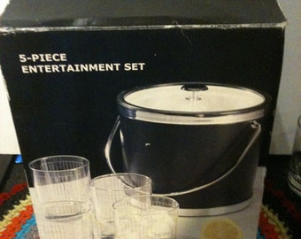 Vintage 5 Piece Entertainment Set Was 21.99