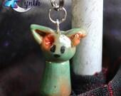 Zombie Kitty Charm