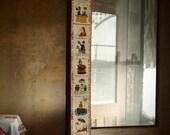 Vintage Hans Christian Andersen folktale wall hanging