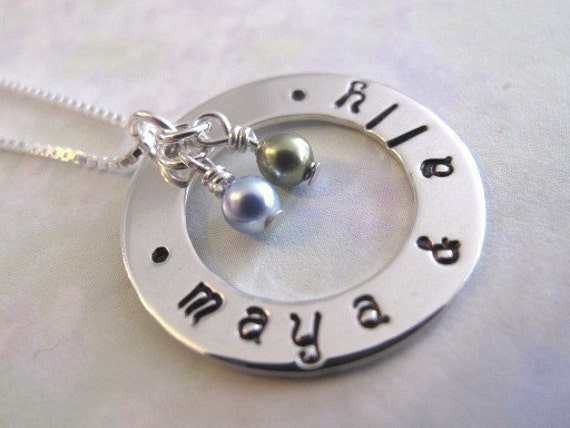 Small Family Circle of Love Necklace