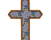 "CROSS Machine Embroidery Applique Design Pattern 5  sizes 3"", 4"", 5"", 6"" and 7"""