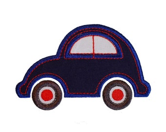 """My Little Car Applique Machine Embroidery Design Patterns in 4 sizes 3"""", 4"""", 5"""" and 6"""""""