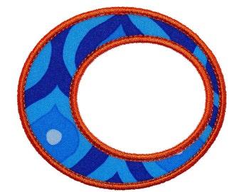 "Retro Bubbles Appliques Machine Embroidery Designs Applique Pattern in 5 sizes 2"", 3"", 4"", 5"" and 6"""