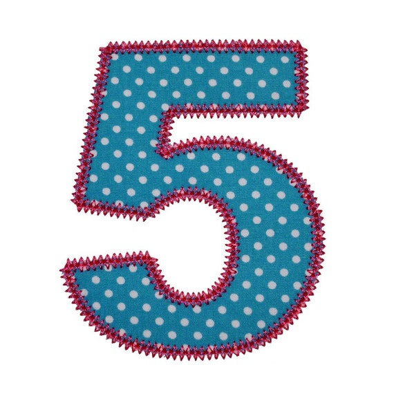 Pretty applique numbers machine embroidery designs appliques
