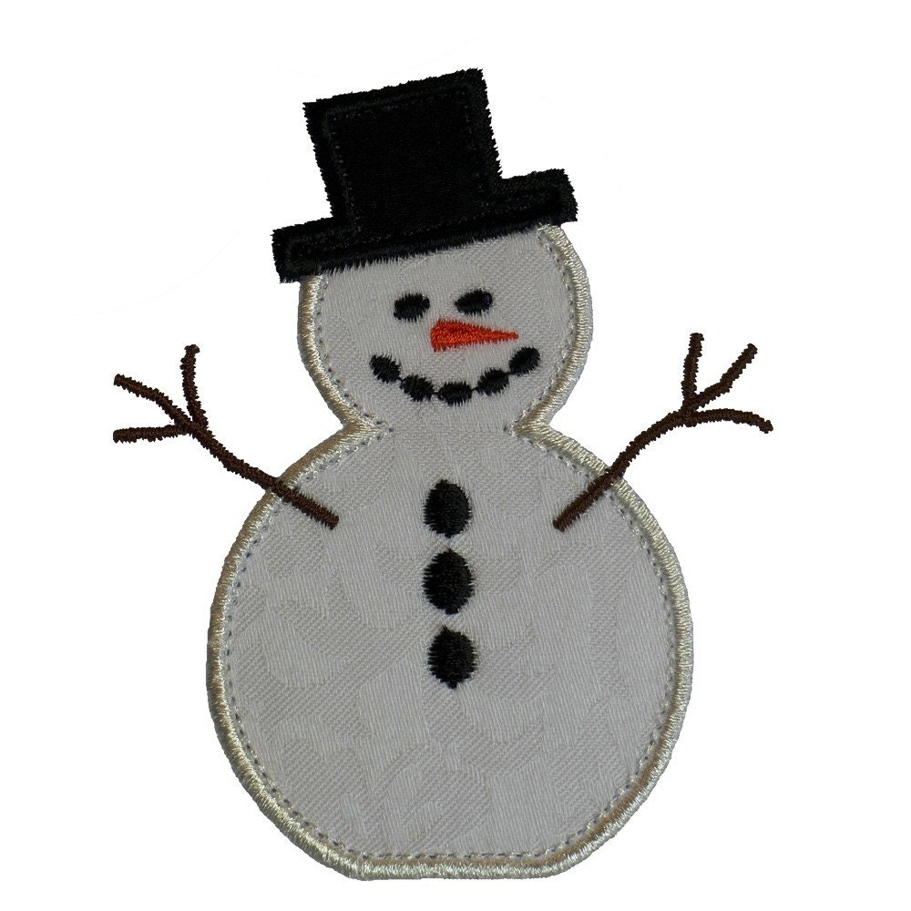 Frosty The Snowman Appliques Machine Embroidery Designs