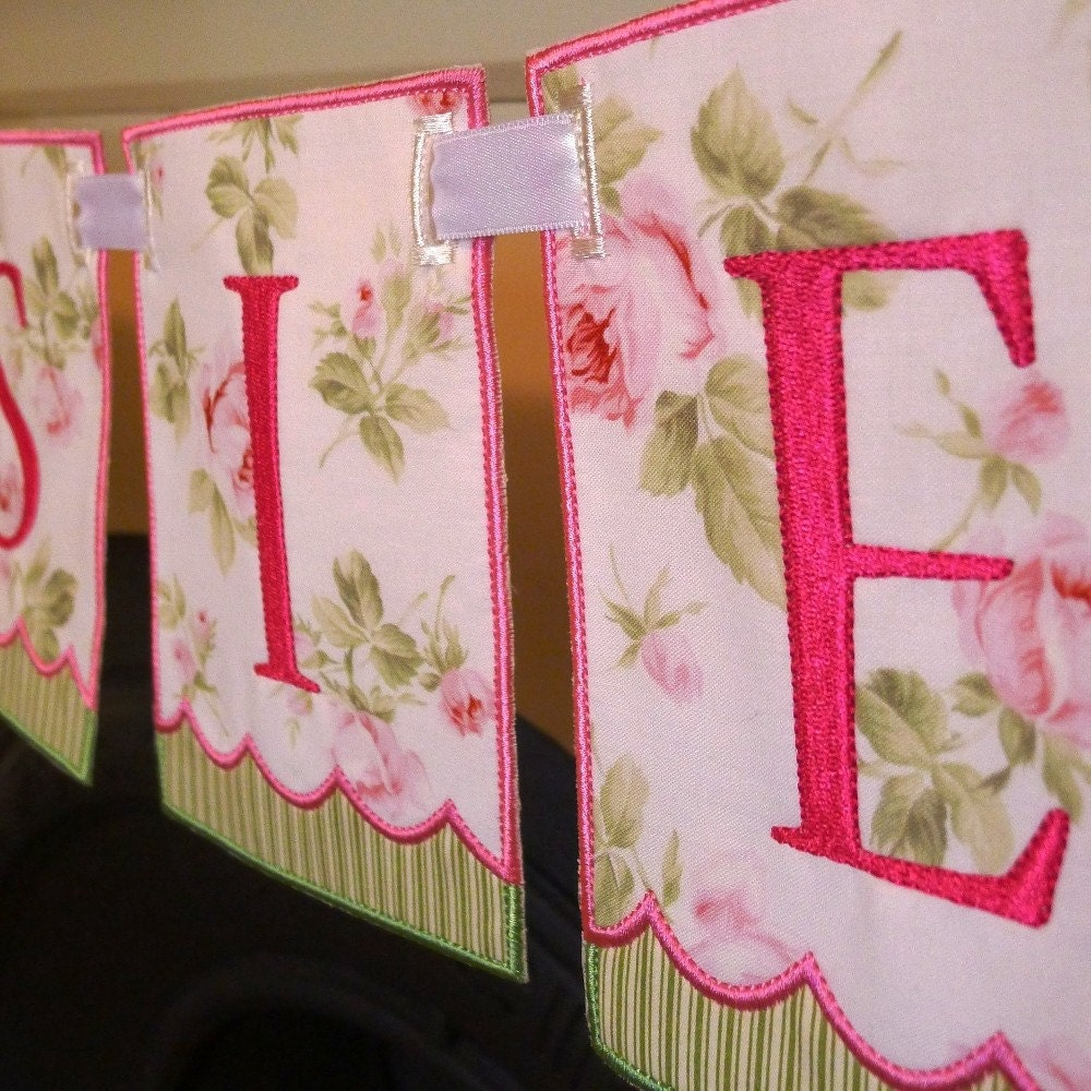 machine embroidery banners