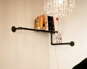 Pipe Corner Bookshelf. home and garden, furniture, bookshelf