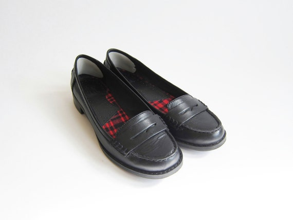 Bass Brookfield Leather Loafers . Black