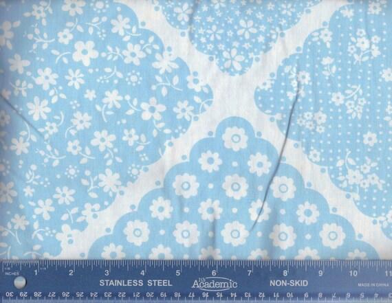 V60 Vintage Blue Multi Print Sheet Fat Quarter  FQ