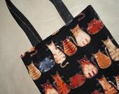 Fancy Kitties tote bag -small