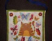 Love a Cat messenger bag- purse