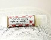 Raspberry Vanilla Natural Lip Balm