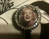 Marilyn Monroe Retractable ID Badge Holder