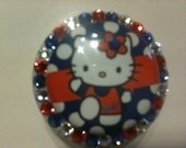 Hello Kitty Florida Gators ID Badge Holder super cute