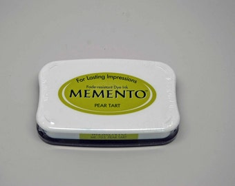 SALE Memento Dye Ink Stamp Pad -- Pear Tart -- Great for Copic Markers