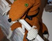 The Fabulous Mr. Fox Crochet Hand Puppet
