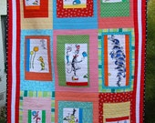 OH DR SEUSS - children's quilt
