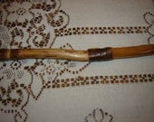 Hand Carved Wooden Pen