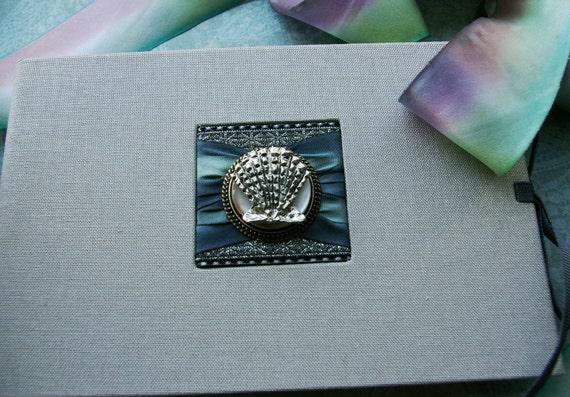 Sea Shore Theme Photo Album, Brag Book, Sea Shell, Beach Wedding, Bridesmaids Gifts