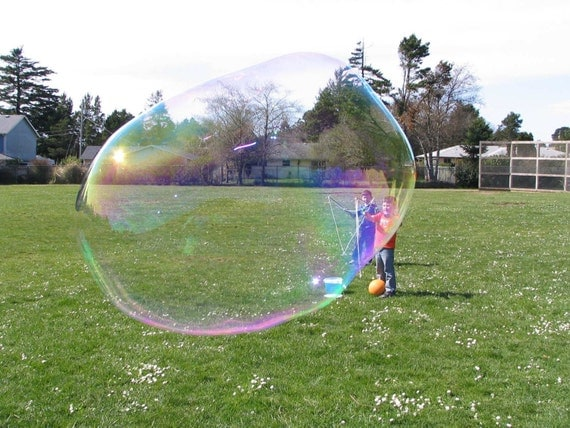 Giant bubble wand kit child beginner size for Giant bubble wand