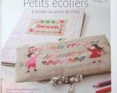 French Cross Stitch Book Small School Children