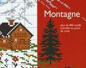 French Cross Stitch Book Mountain