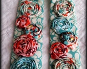 Rosette Camera Strap Cover in Fandango /Hurry only ONE left