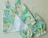Custom Vintage Pinafore and Bloomer set for Elizabeth