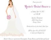 Cute custom bridal shower Invite DIY